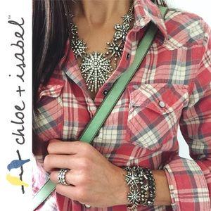 Chloe + Isabel Jewelry - 🆕 Starburst Statement Bracelet c+i B346SGCL